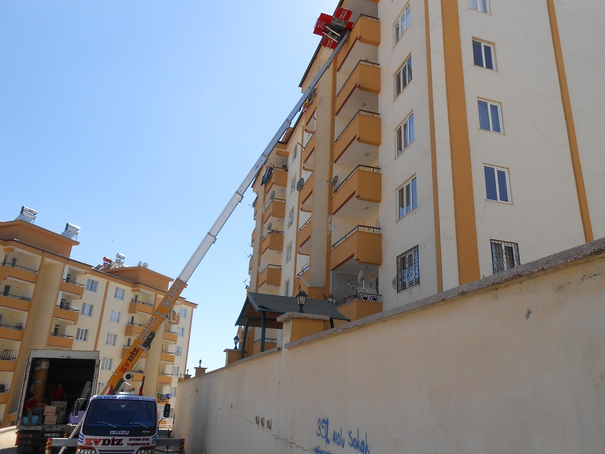 Gaziantep Evden Eve Asansörlü Nakliyat